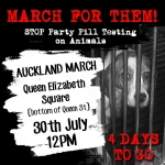 General News | Dog News Articles - QUEEN STREET MASS MEMORIAL MARCH AGAINST ANIMAL TESTING FOR PARTY PILLS