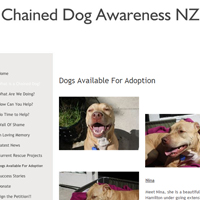 Chained Dog Awareness